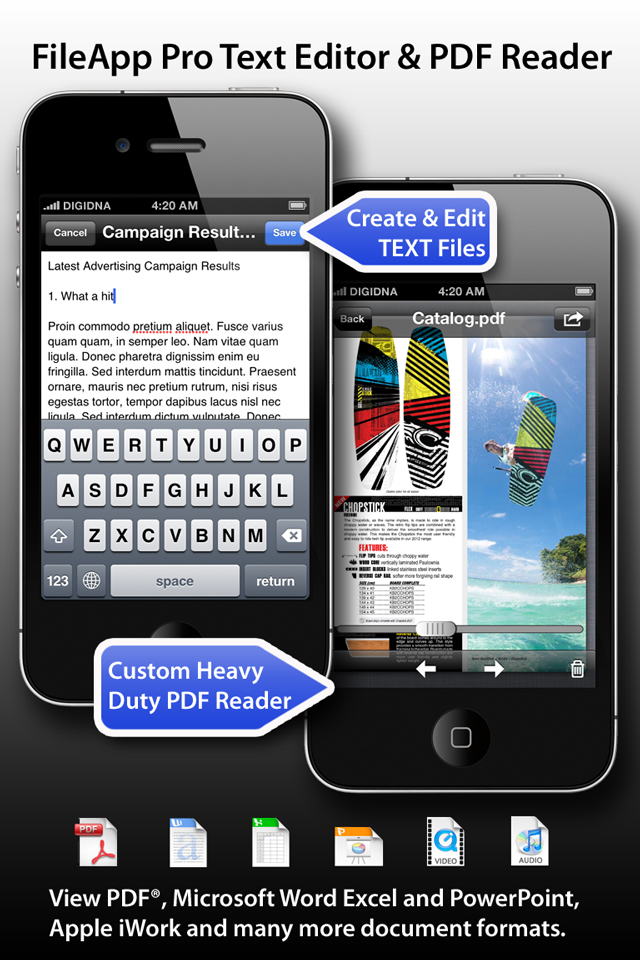 Image of FileApp Pro for iPhone